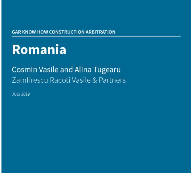 GAR_Construction Arbitration_RO.indd